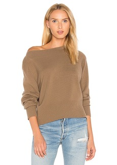 Vince Boatneck Sweater in Brown. - size L (also in M,S,XS)