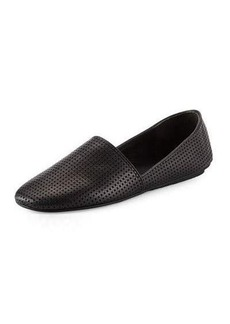 Vince Bogart Perforated Leather Flat