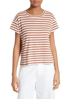Vince Bold Stripe Relaxed Tee