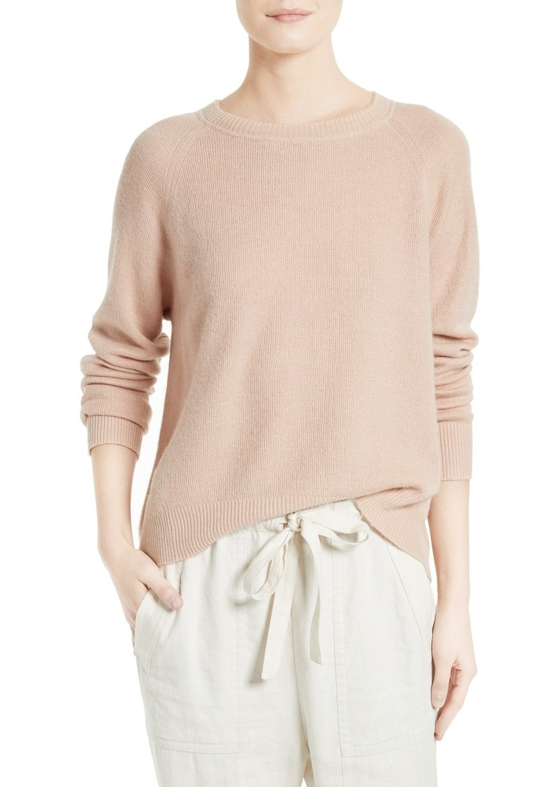 Vince Vince Boxy Cashmere & Linen Pullover | Sweaters - Shop It To Me