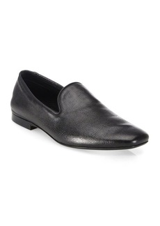 Vince Bray Leather Smoking Loafers