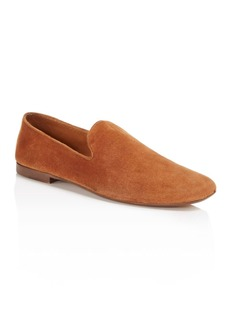 Vince Bray Suede Smoking Slippers