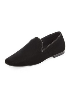 Vince Bray Velvet Smoking Loafer
