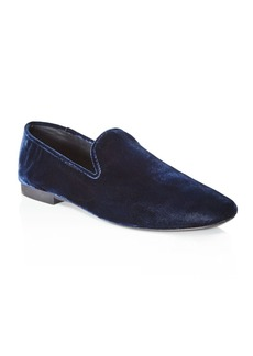 Vince Bray Velvet Smoking Slippers