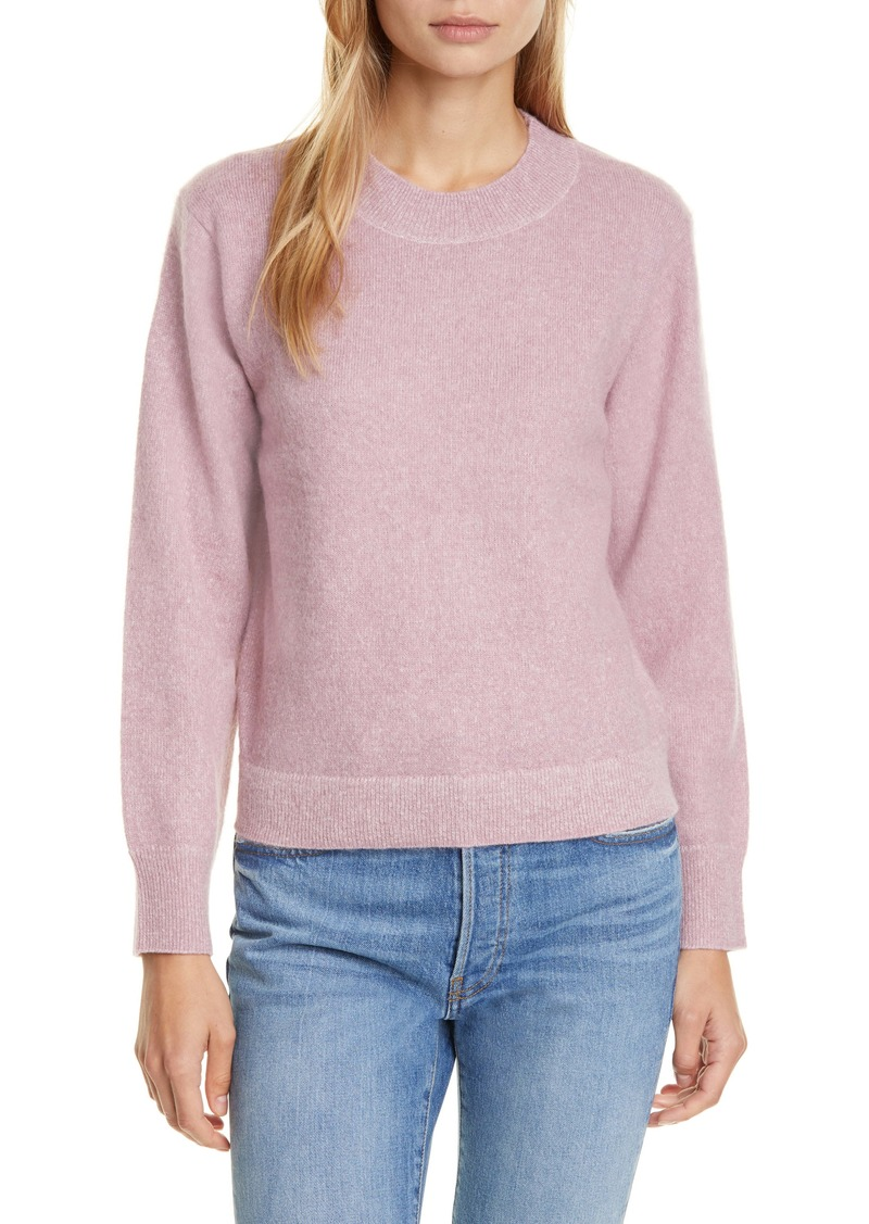 Vince Brushed Crewneck Sweater