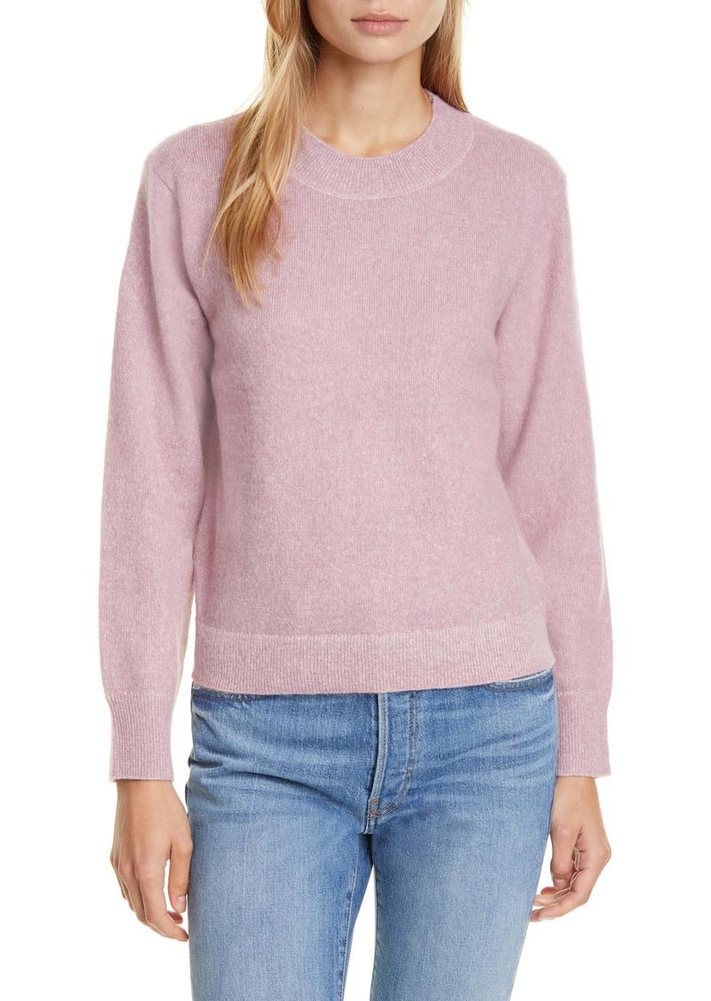 Vince Brushed Crewneck Sweater