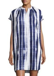Vince Brushstroke-Print Dress