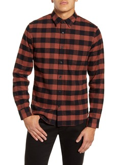 Vince Buffalo Check Button-Up Shirt