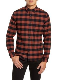 Vince Buffalo Check Classic Fit Button-Up Shirt