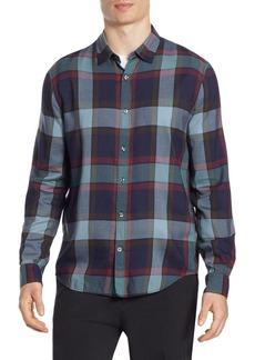 Vince Buffalo Plaid Coastal Button-Down Shirt