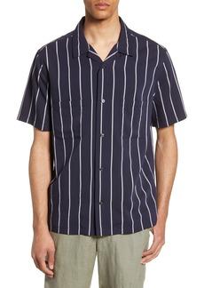 Vince Cabana Slim Fit Short Sleeve Sport Shirt