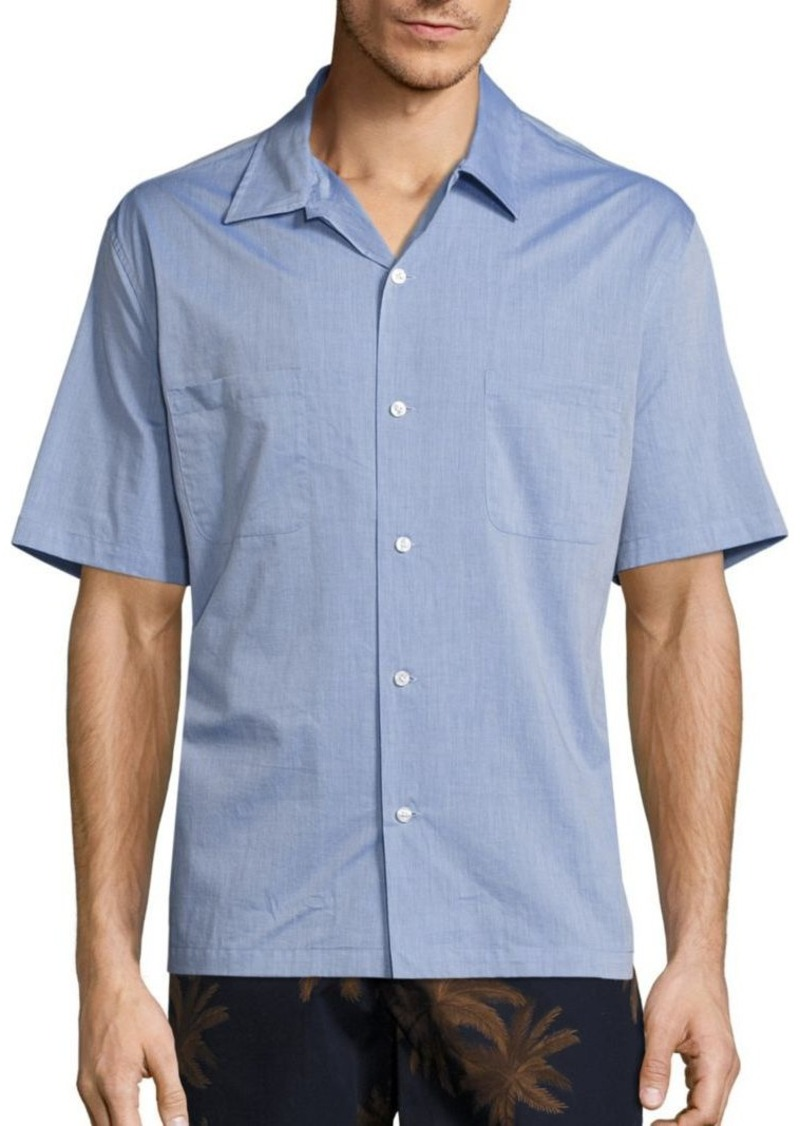 Vince Cabana Vintage Cotton Shirt