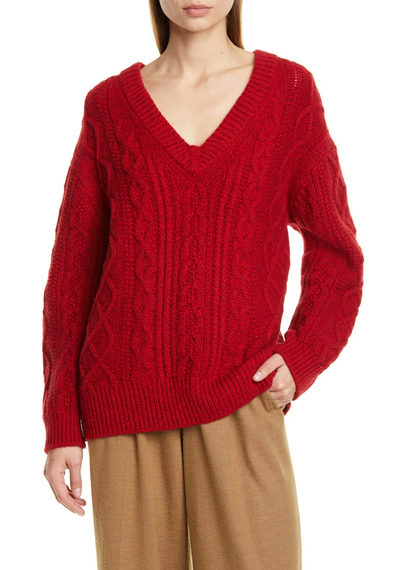 Vince Cable Merino Wool & Cashmere Blend Sweater