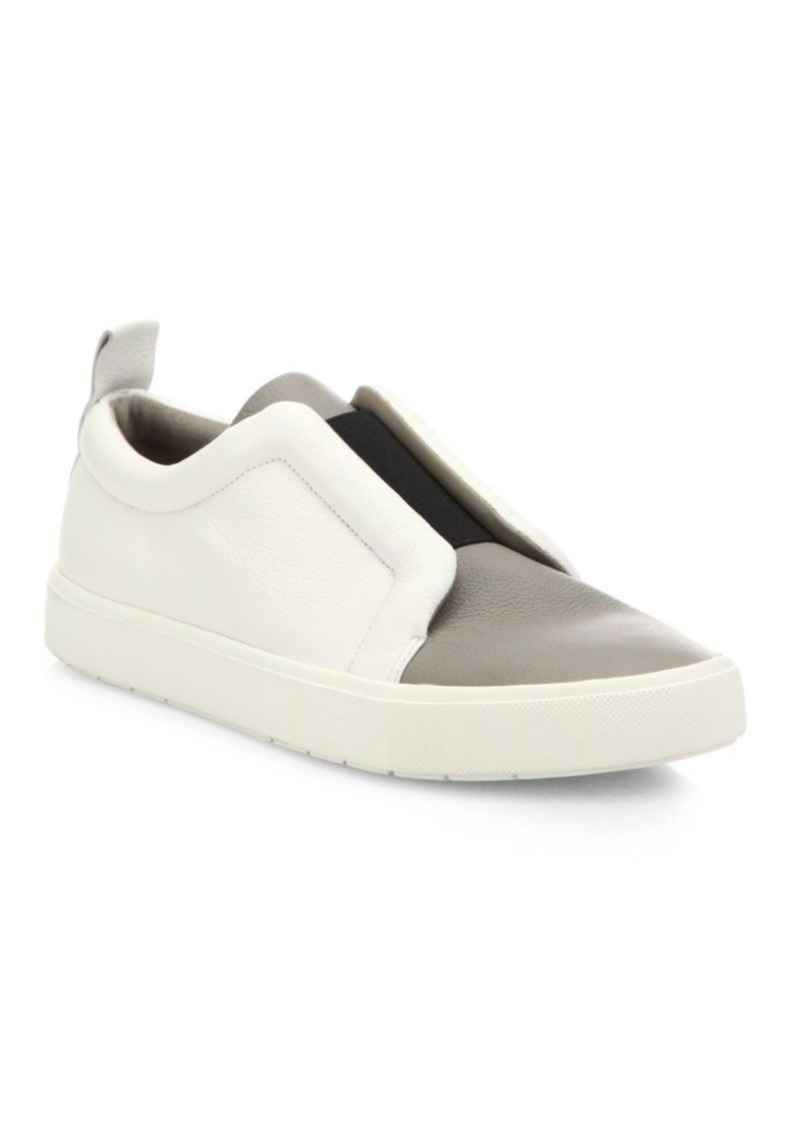 Vince Caden Leather & Textile Skate Sneakers