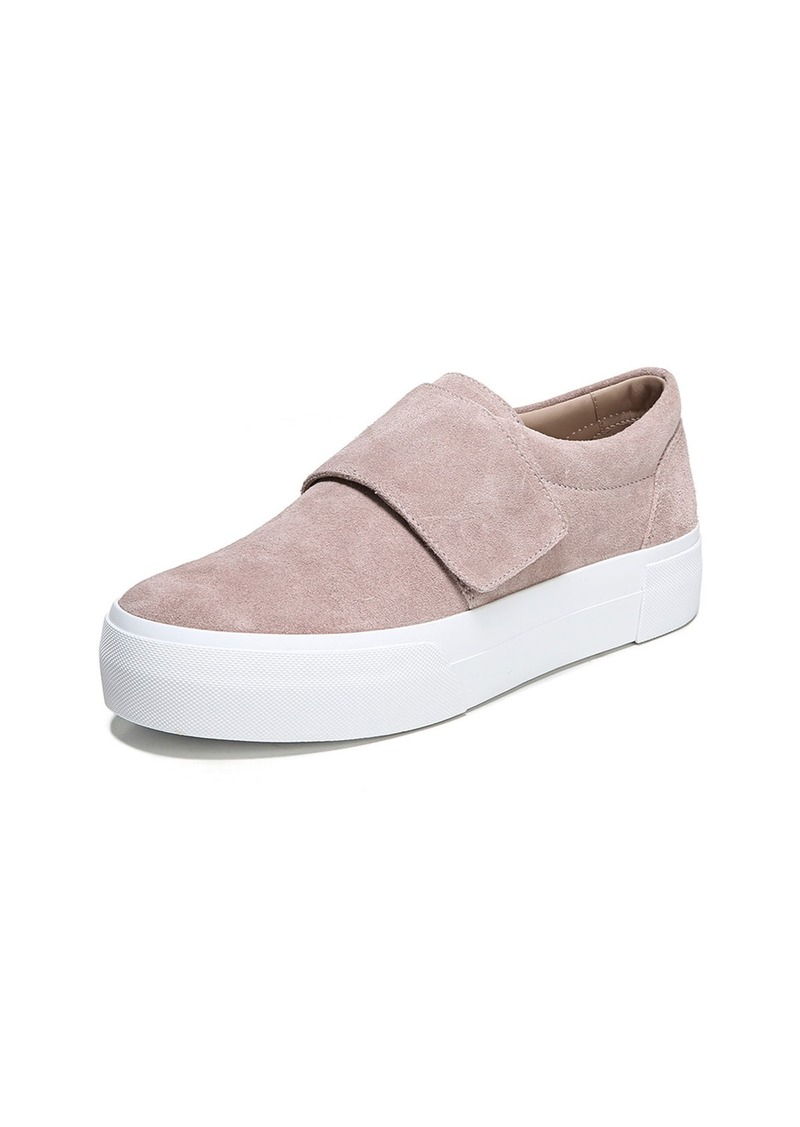 bf67f4aae88 On Sale today! Vince Vince Cage Sport Suede Grip-Strap Sneakers