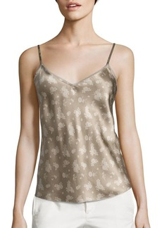 Vince Calico Floral-Print Silk Camisole