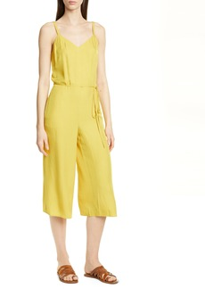 Vince Cami Wide Leg Crop Jumpsuit