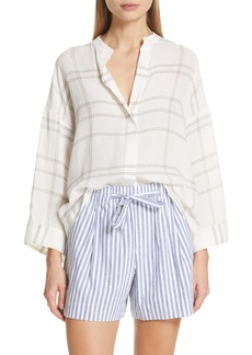 Vince Carpinteria Plaid Shirt