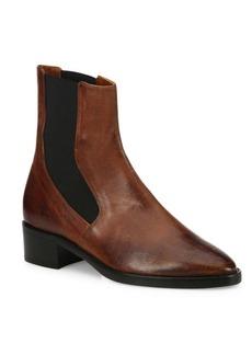 Vince Carrington Leather Chelsea Booties