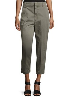 Vince Carrot Slim-Fit Chino Pants