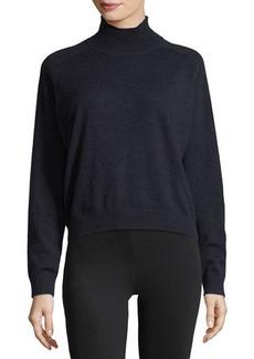 Vince Cashmere Drop-Shoulder Turtleneck Sweater