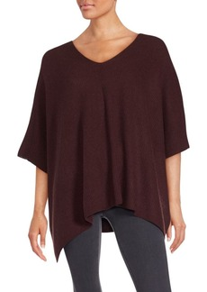 Vince Cashmere Poncho Sleeve Top