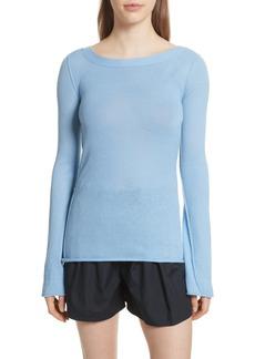 Vince Cashmere V-Back Cashmere Sweater