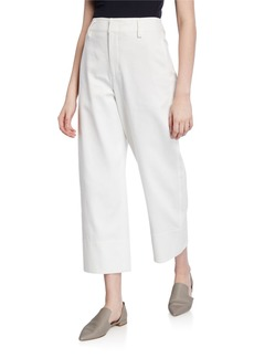 Vince Casual Straight Cropped Pants