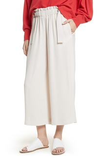 Vince Cinched Waist Culottes