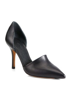 Vince Claire Choked Up Leather D'Orsay Pumps