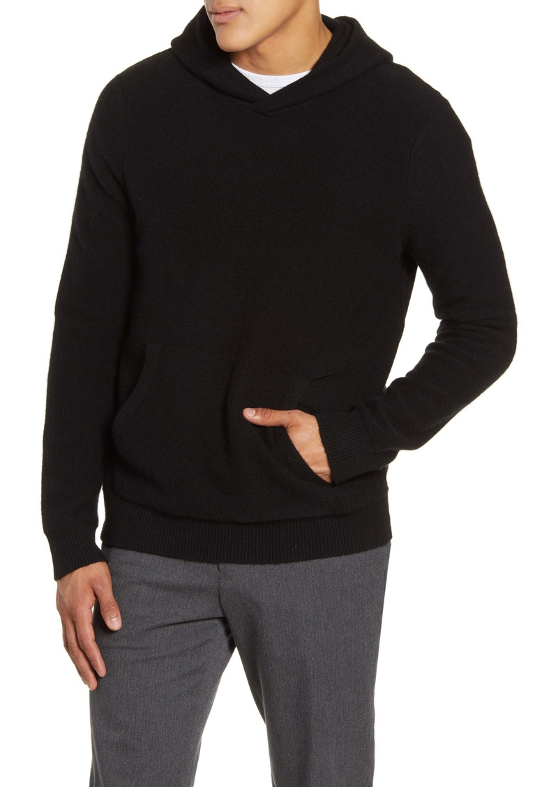 Vince Classic Cashmere Pullover Hoodie