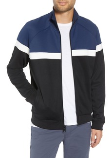 Vince Classic Fit Colorblock Track Jacket