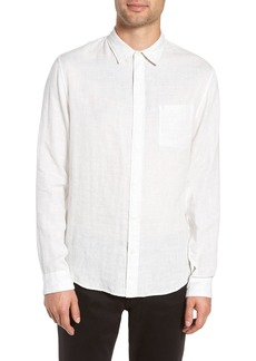 Vince Classic Fit Double Knit Sport Shirt