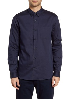 Vince Classic Fit Pin Dot Shirt