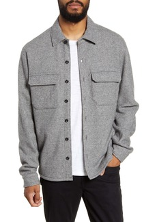 Vince Classic Fit Shirt Jacket