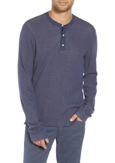 Vince Classic Fit Thermal Henley