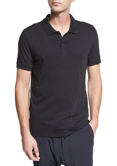 Vince Classic Slub Cotton Polo Shirt