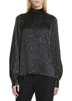 Vince Constellation Print Blouse