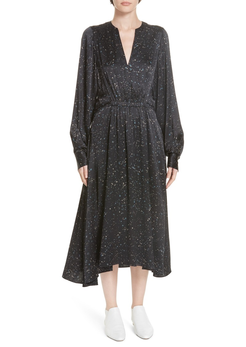 542f7cc34d Vince Vince Constellation Print Poet Midi Dress