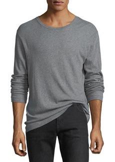 Vince Cotton-Cashmere Long-Sleeve T-Shirt