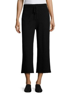Vince Cotton Cropped Drawstring Pants