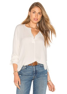 Vince Covered Placket Blouse