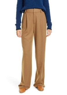 Vince Cozy Wide Leg Wool Blend Pants