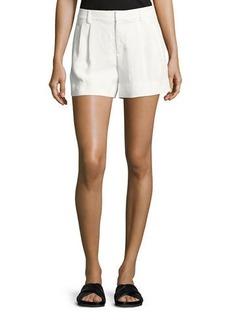 Vince Crepe Trouser Shorts