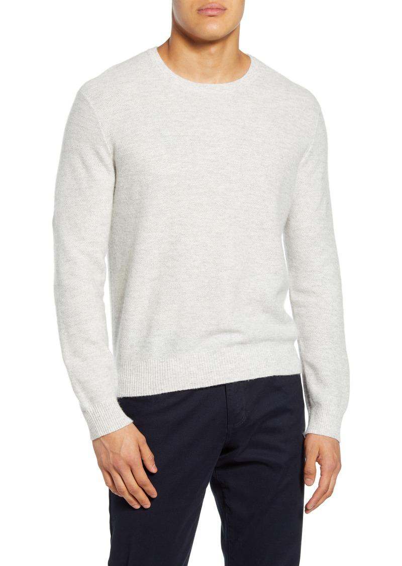 Vince Crewneck Linen & Cashmere Sweater