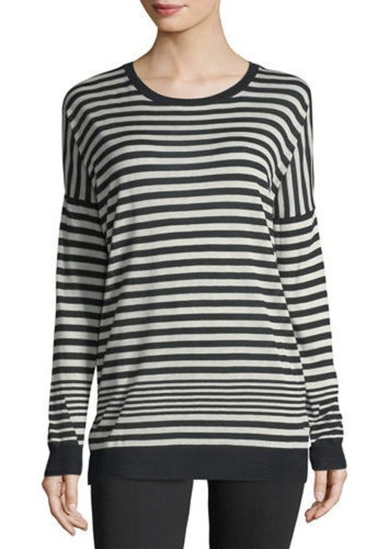 Vince Vince Crewneck Long-Sleeve Striped Pullover Sweater ...