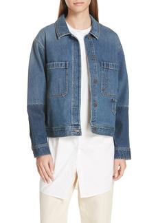 Vince Crop Denim Jacket