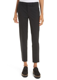 Vince Crop Stretch Wool Pants