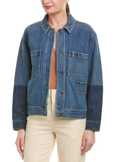 Vince Cropped Denim Jacket
