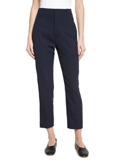Vince Cropped High-Waist Pants